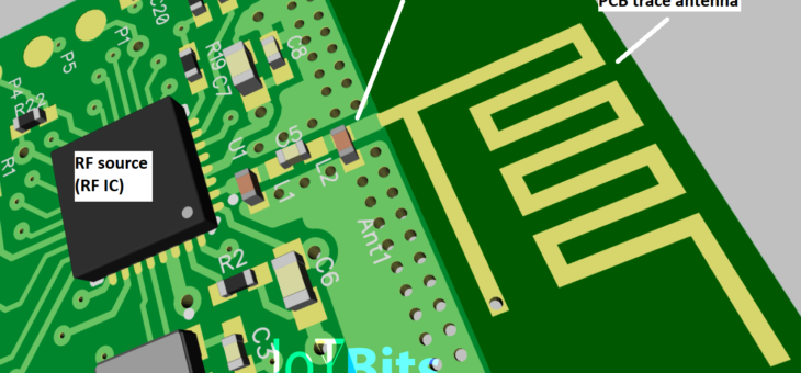 Part 1: Designing a WiFi PCB trace antenna for ESP8266 or ESP32