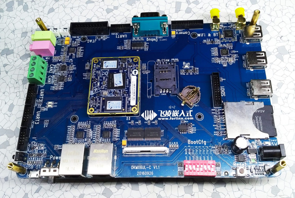 Forlinx iMX6UL development board base board
